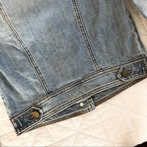 Rubbish Jackets & Coats - NWOT XS Jean jacket, cropped and faded denim